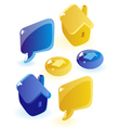 Soap website icons vector image
