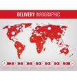 World transportation and logistics Delivery and vector image