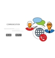 receive mail web icon vector image