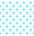 seamless background of small flowers vector image