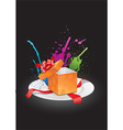 Gift Box Opening vector image vector image