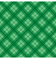 Green Tartan Diamond Background vector image