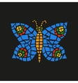 Butterfly Mosaic vector image
