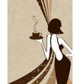 retro coffee vector image