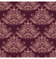 Persian seamless floral pattern vector image