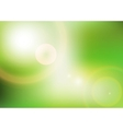 Eco background with sunlight vector image