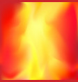 abstract bright flame layout background vector image