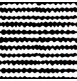seamless pattern hand drawn horizontal wavy lines vector image