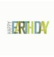 Earth Day Calebration Typography Minimalistic logo vector image