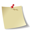 Note pad vector image