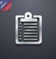 notebook icon symbol 3D style Trendy modern design vector image