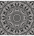 Seamless abstract floral outline pattern vector image