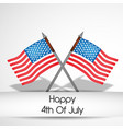 usa independence day 4th of july vector image