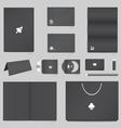 Corporate Identity Mockup Templates vector image