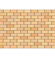 A fragment of a brick wall vector image