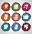Technology icon design vector image