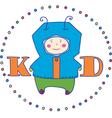 kid boy vector image vector image