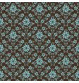 retro damask pattern vector image vector image