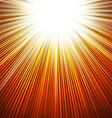 Sunbeams abstract background vector image