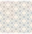 Abstract Seamless Geometric Hexagon Pattern Mesh vector image