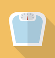 Weighting apparatus flat icon vector image