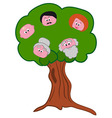 Family Tree Symbol vector image vector image