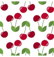 red cherries seamless vector image