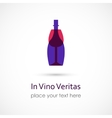 In Vino Veritas vector image