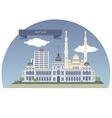 Port Said vector image