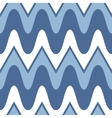 Simple blue scalloped seamless pattern vector image