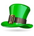 St Patrick hat vector image