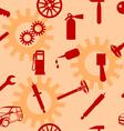 auto car repair service icon symbols vector image