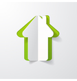 paper house vector image