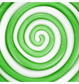 lollipop background green sweet candy vector image