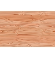 Wood texture with natural pattern top view vector image