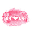 Watercolor centered background vector image vector image