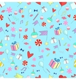 Seamless pattern holiday vector image