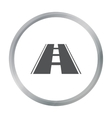Road icon of for web and vector image