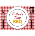 Fathers Day BBQ vector image vector image