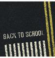 Back to school road concept vector image