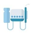 Dental equipment vector image