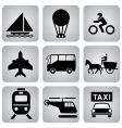 leasure icons vector image