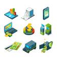 digital banking online bank transaction digital vector image