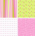 scrapbook patterns for design vector vector image vector image