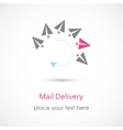 Mail Delivery Icon vector image