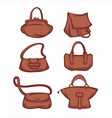 bag collection vector image vector image