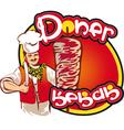 kebab6min vector image