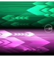 Abstract tech motion lines backgrounds vector image