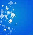 Dental health background vector image vector image