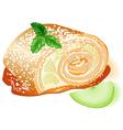apple pie vector image